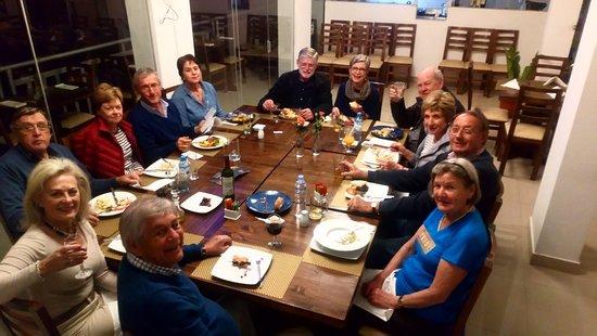 Alpakitay resto-bar: Nuestros comensales felices