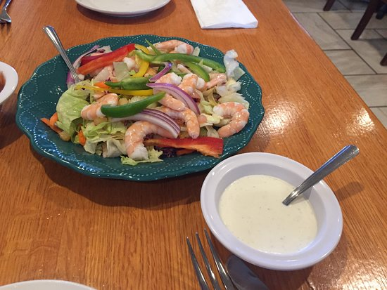 La Palapa Mexican Restaurant: Seafoodsalat