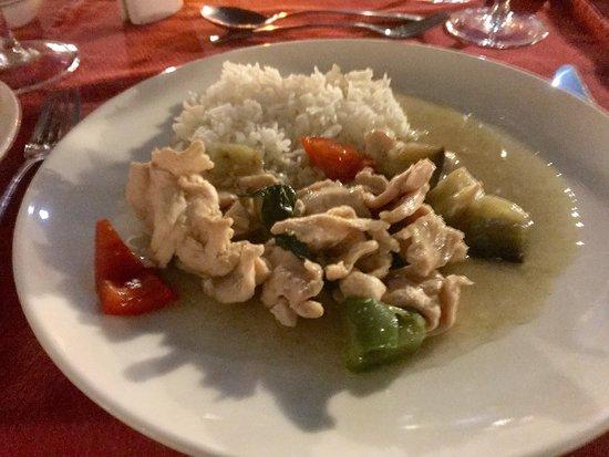 Baron Palace Sahl Hasheesh: Essen beim Thai