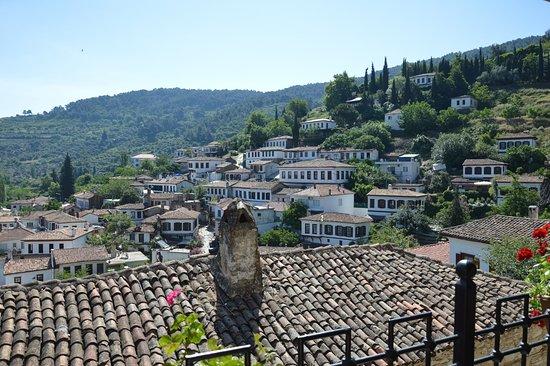 Sirince, Turquía: Výhled od kostela