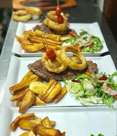 The Black Bull Restaurant & Bar: Ribeye steaks