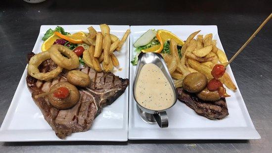 The Black Bull Restaurant & Bar: T Bone steak