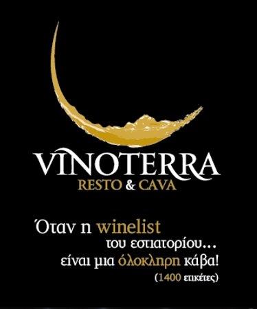 Vinoterra Resto & Cava: Όταν η winelist του εστιατορίου είναι μια ολόκληρη κάβα!