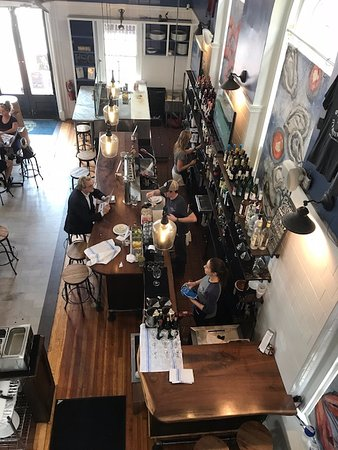 King Street Oyster Bar Middleburg : view from up top