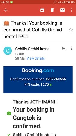 Foto de Gohills Orchid Hostel