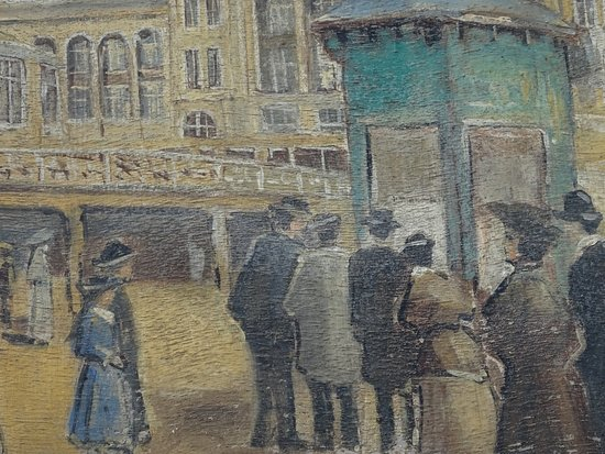 Palace Promenade: omgeving Palace Hotel rond 1910