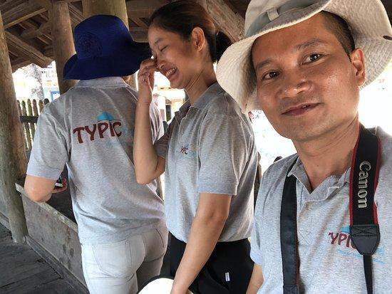 L'équipe de Typic Travel en voyage de repérage