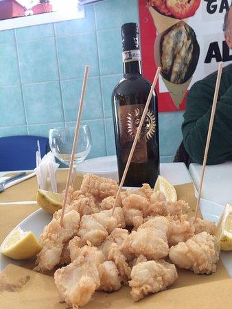 Pescheria Patrizia: Baccalá fritto!