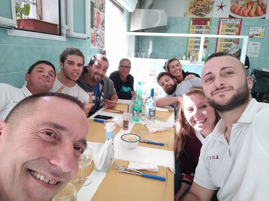 Pescheria Patrizia: Pranzo tra colleghi!