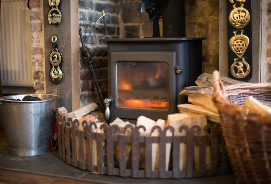 The Green Dragon: come and warm yourselves by our lovely fires in winter