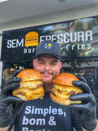 Sem Frescura Burger: aquele sorriso