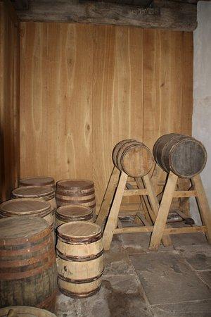Tretower Castle & Court: wine