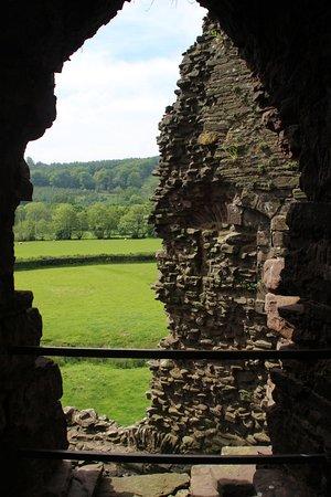 Tretower Castle & Court: view