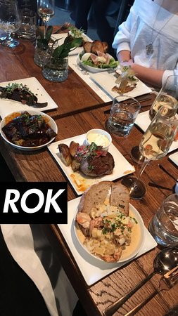 ROK Restaurant: Lots of dishes to try!