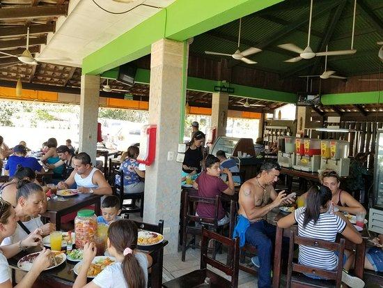 Marea Baja: popular spot with locals