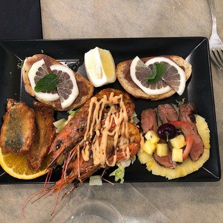 Basilico : Antipasto misto e pesce arrosto