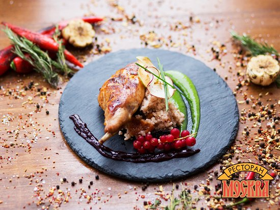 Moskva: Блюдо утиная ножка конфи