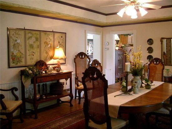 Thendara, NY: formal dining room