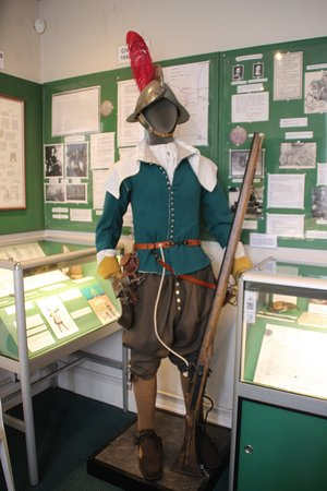 Monmouth Castle and Military Museum: exhibit
