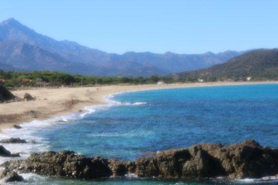 Plage de Lozari: La plage est très jolie