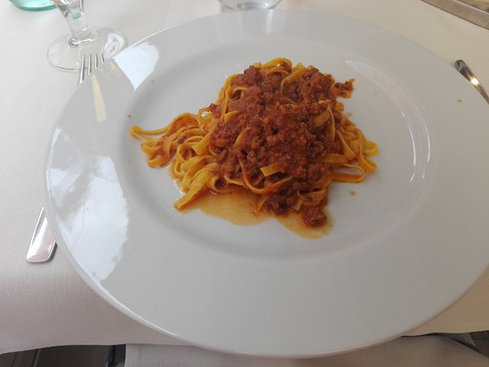 Il Ciclone: First course: tasty pasta