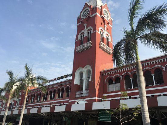 Promenade d'architecture britannique à Chennai : Chennai Central