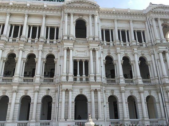 Paseo de la arquitectura británica en Chennai: Ripon Building- Chennai City Corporation