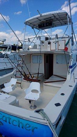 Sport Fishing Dream Catcher: outside