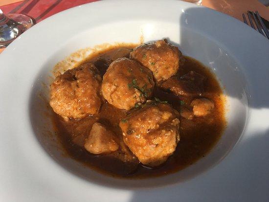 Restaurant Joncadella: Boulettes