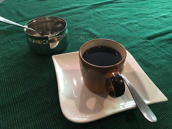 Antica Bar and Restaurant : Coffee