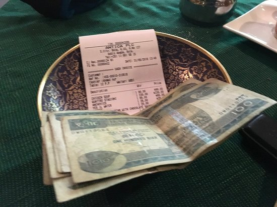 Antica Bar and Restaurant : Fair price