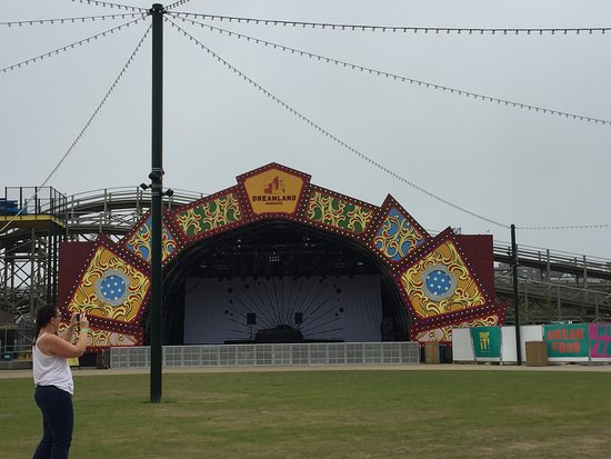 Dreamland Margate : The stage (Lots of live shows planned)
