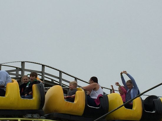 Dreamland Margate : Bumblebee Coaster for little ones (Sure it used to be a caterpillar)