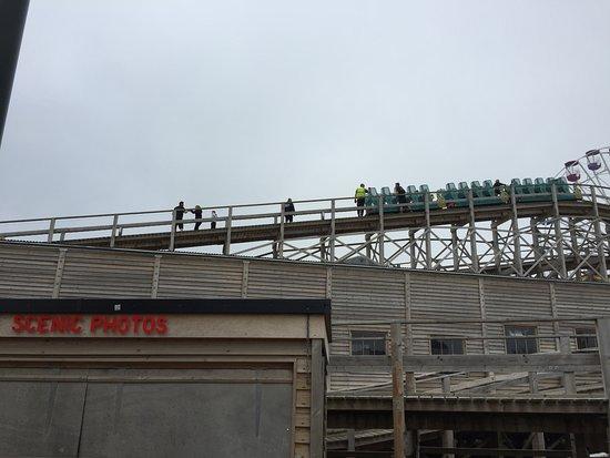 Dreamland Margate : Scenic Railway Breakdown, Interesting walk to freedom