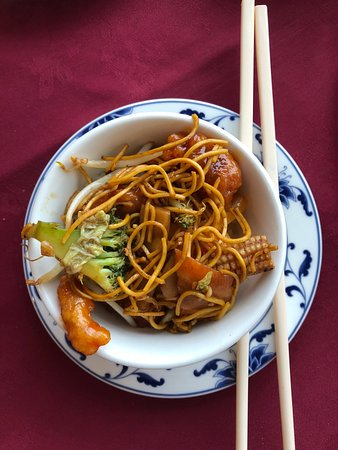 Wet Wok: tapas dish - small bowl