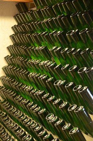 Tori, Estonia: riddling rack for ciders