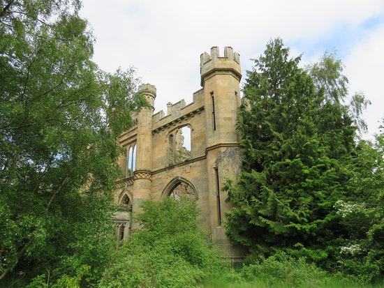 Crawford Priory: tower