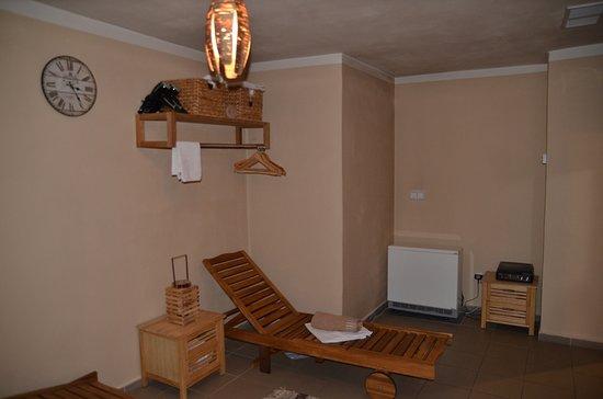 Penzion a Restaurace U Kohoutu: Odpočívárna vedle sauny