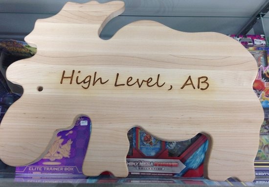 High Level, Canadá: Locally made gift items