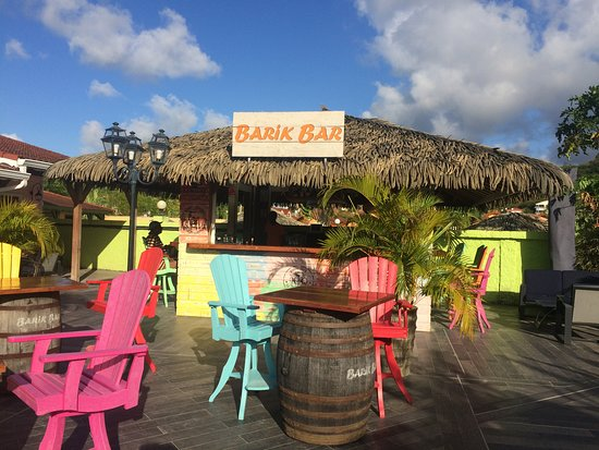 Hôtel Bambou : Bar della Spiaggia