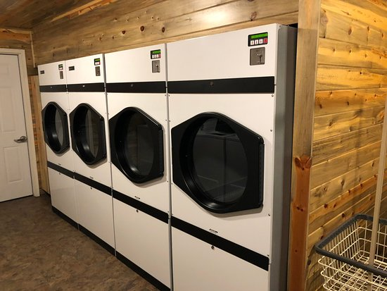 Rafter J Bar Ranch Campground: Newer dryers