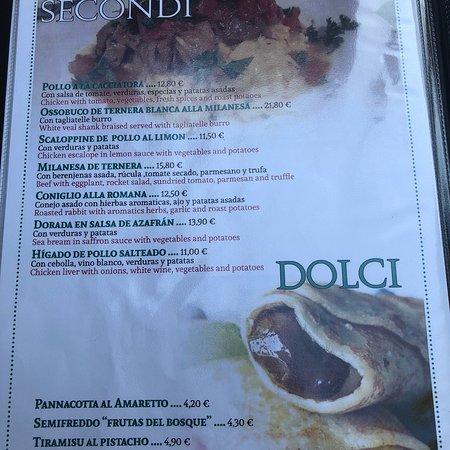 Trattoria italiana: New Menu / New Owners