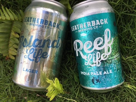 Leatherback Brewing Co. : Our canned beers- find them around the island!