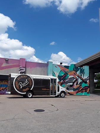 Pearl Brewery Tours: Local art in downtown Tulsa
