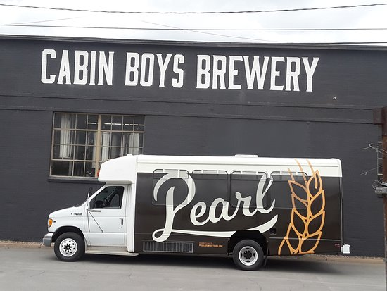 Meet 'Pearl'. One of our favorite stops is Cabin Boys Brewery in Tulsa, OK.