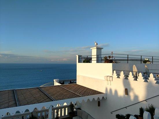 La Tangerina: Roof top view