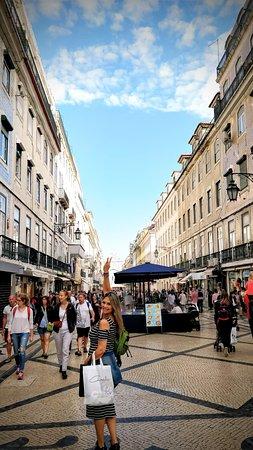 Praca do Comercio (Terreiro do Paco): Na baixa de Lisboa