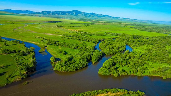Big Mongolia Travel : The 5 rivers convergence. A lesser known spot that our clients love.