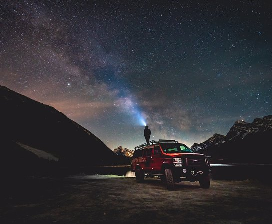 Canmore, كندا: Night photography clinics with Moose Trail Overland!