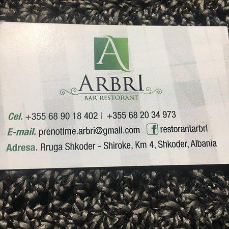 Bar Restorant ARBRI Photo